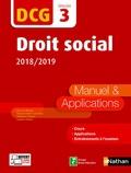 Anne Le Nouvel et Claudia Martin Laviolette - Droit social DCG 3 - Manuel & applications.