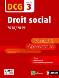 Galabria.be Droit social DCG 3 - Manuel & applications Image