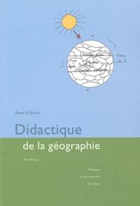 Anne Le Roux - Didactique de la géographie.