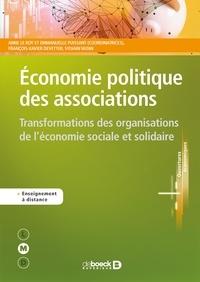 Economie politique des associations- Transformations des organisations de l'économie sociale et solidaire - Anne Le Roy pdf epub