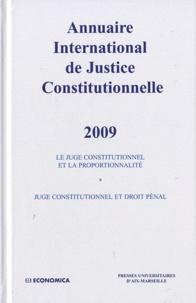 Anne Levade et Karen Fiorentino - Annuaire international de Justice Constitutionnelle - Tome 25.