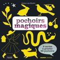 Anne-Lise Boutin - Pochoirs magiques - Avec 9 cartes à gratter et 80 pochoirs.