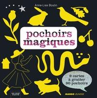 Birrascarampola.it Pochoirs magiques - Avec 9 cartes à gratter et 80 pochoirs Image