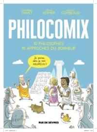 Anne-Lise Combeaud et Jérôme Vermer - Philocomix Tome 1 : 10 philosophes, 10 approches du bonheur.