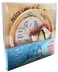 Petits lamas à broder - Avec 1 tambour, 1 toile, 5 coloris de fil et 1 aiguille.pdf