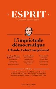 Anne-Lorraine Bujon - Esprit N° 451, janvier-févr : L'inquiétude démocratique - Claude Lefort au présent.