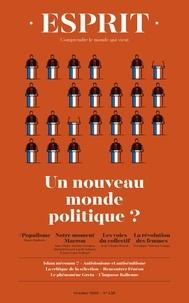 Anne-Lorraine Bujon - Esprit N° 458, octobre 2019 : Un nouveau monde politique ?.