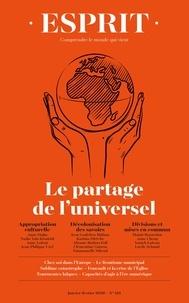 Anne-Lorraine Bujon - Esprit N° 461, janvier-févr : Le partage de l'universel.