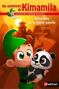 Anne Loyer et  Nils - Kimamila et le bébé panda.