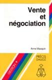 Anne Macquin - Vente et négociation - 1993.