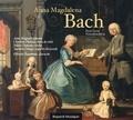 Anne Magouët et Christine Plubeau - Anna Magdalena Bach - Petit livre. 1 CD audio