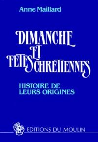 Galabria.be DIMANCHE ET FETES CHRETIENNES. Histoire de leurs origines, 2ème édition Image
