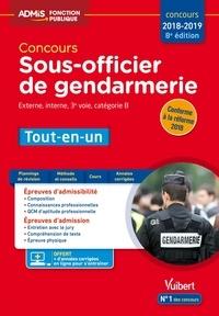 Anne-Marie Bonnerot et François Lavedan - Concours Sous-officier de gendarmerie - Catégorie B - Tout-en-un - Concours 2018-2019.