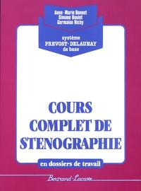 Alixetmika.fr Cours complet de sténographie en dossiers de travail - Système Prévost-Delaunay de base Image