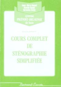 Cours complet de sténographie - Système Prévost-Delaunay de base, Livret du professeur.pdf