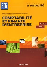 Anne-Marie Bouvier et Jack Tuszynski - Comptabilité et finance d'entreprise Tle CFE.