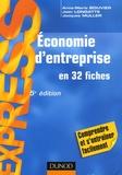 Anne-Marie Bouvier et Jean Longatte - Economie d'entreprise.