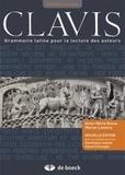 Anne-Marie Boxus et Marius Lavency - Clavis - Grammaire latine pour la lecture des auteurs.