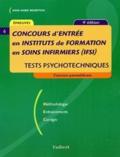 Anne-Marie Bruneteau - Concours d'entrée en institut de formation en soins infirmiers (IFSI) - Tests psychotechniques.