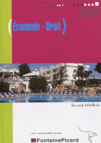 Economie droit 2e hôtellerie