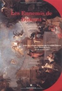 Anne-Marie Chouillet - Les ennemis de Diderot.