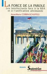 Anne-Marie Corbin-Schuffels - .