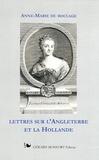 Anne-Marie Du Boccage - Lettres sur l'Angleterre et la Hollande.