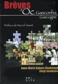 Anne-Marie Dubois-Chadefaud et Sèrgi Javaloyès - Brèves d'Oc Gasconha.