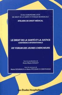 Ucareoutplacement.be Le droit de la santé et la justice - VIIe Forum des jeunes chercheurs Image