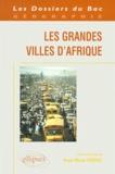 Anne-Marie Frérot et  Collectif - Les grandes villes d'Afrique.