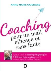 Anne-Marie Gaignard - Coaching pour un mail efficace et sans faute.