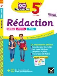 Téléchargement du livre audio Rapidshare Rédaction 5e  - cahier d'entraînement en rédaction par Anne-Marie Gorson-Tanguy, Alexandra Pulliat