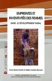 Anne-Marie Granié et Hélène Guétat-Bernard - Empreinte et inventivité des femmes dans le développement rural.