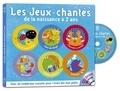 Anne-Marie Grosser - Les jeux-chantés de la naissance à deux ans. 1 CD audio