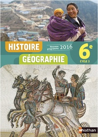 Anne-Marie Hazard-Tourillon et Sébastien Cote - Histoire Géographie 6e Cycle 3.