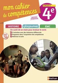 Histoiresdenlire.be Histoire-Géographie EMC 4e Cycle 4 Mon cahier de compétences Image