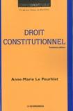 Anne-Marie Le Pourhiet - Droit constitutionnel.