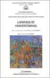 Anne-Marie Le Pourhiet - Langue(s) et constitution(s).