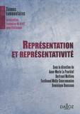 Anne-Marie Le Pourhiet et Bertrand Mathieu - Représentation et représentativité.