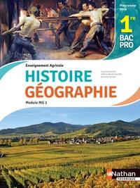 Anne-Marie Lelorrain et Louis Larcade - Histoire et Géographie Module MG 1 1re Bac pro enseignement agricole.
