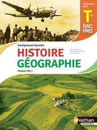 Anne-Marie Lelorrain et Louis Larcade - Histoire et Géographie Module MG 1 Tle Bac pro enseignement agricole.