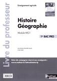Anne-Marie Lelorrain et Louis Larcade - Histoire Géographie 1re Bac Pro Module MG1 - Livre du professeur.