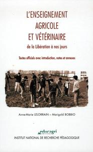 Deedr.fr L'enseignement agricole et vétérinaire de la Libération à nos jours - Textes officiels avec introduction, notes et annexes Image