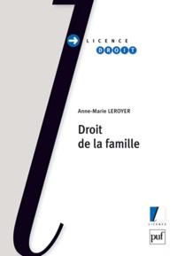 Anne-Marie Leroyer - Droit de la famille.