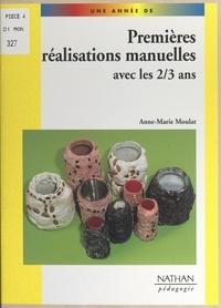 Anne-Marie Moulat et Yvette Jenger - Des réalisations manuelles avec les 2-3 ans.