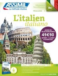 Anne-Marie Olivieri - L'italien B2 - Pack avec 1 livre de 528 pages et 1 téléchargement audio MP3.