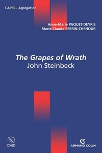 Anne-Marie Paquet-Deyris et Marie-Claude Perrin-Chenour - The Grapes of Wrath - John Steinbeck.