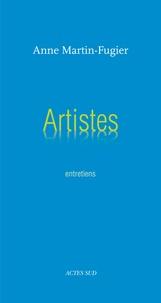 Anne Martin-Fugier - Artistes - Entretiens.