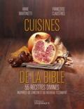 Anne Martinetti et Françoise Claustres - La cuisine de la Bible - 55 recettes divines inspirées de l'Ancien et du Nouveau Testament.