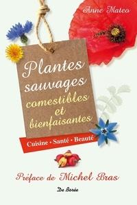 Anne Mateo - Plantes sauvages comestibles et bienfaisantes - Cuisine, santé, beauté.